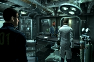 Ansicht eine Vaults in Fallout 3